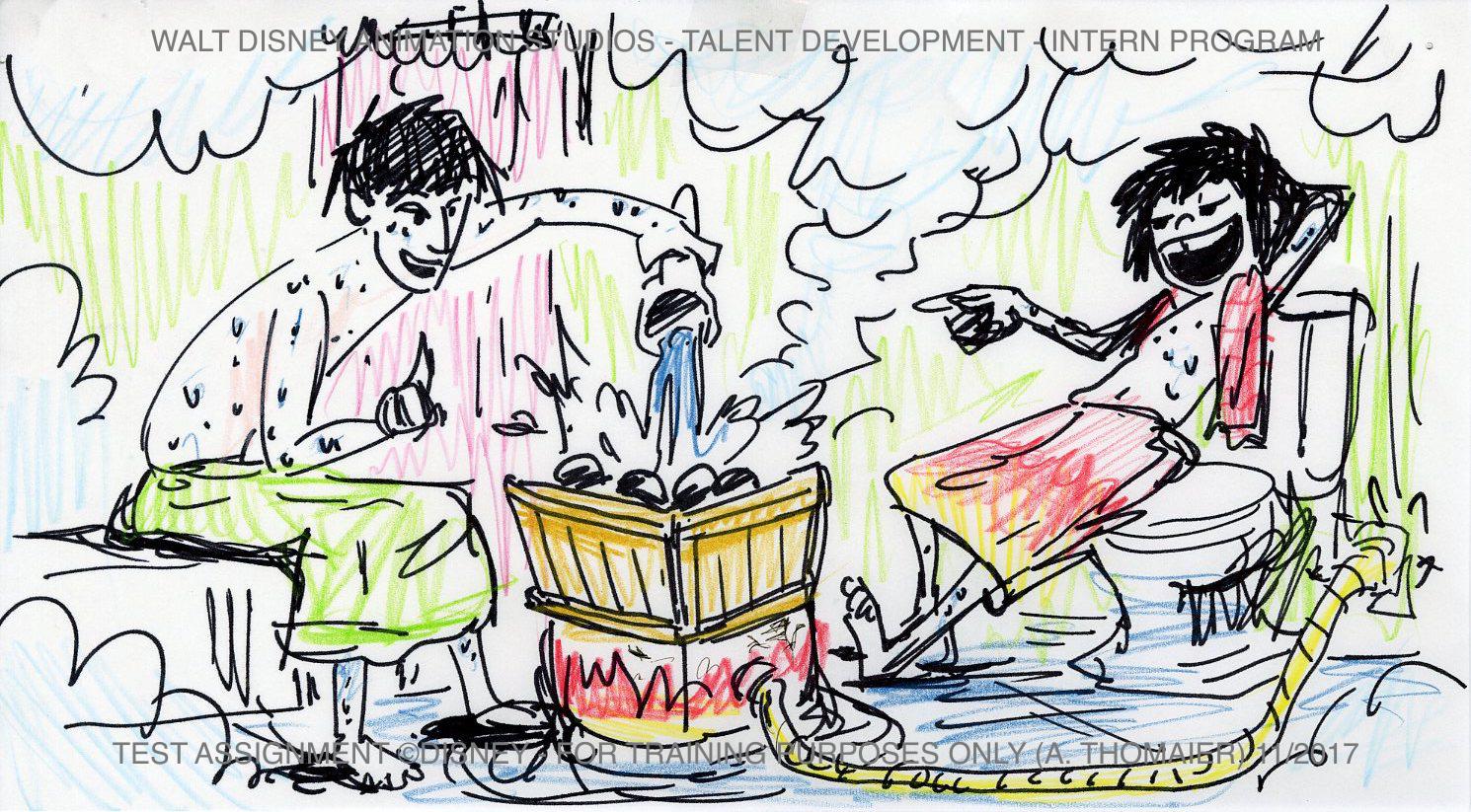 Disney Internship Tadashi & Hiro