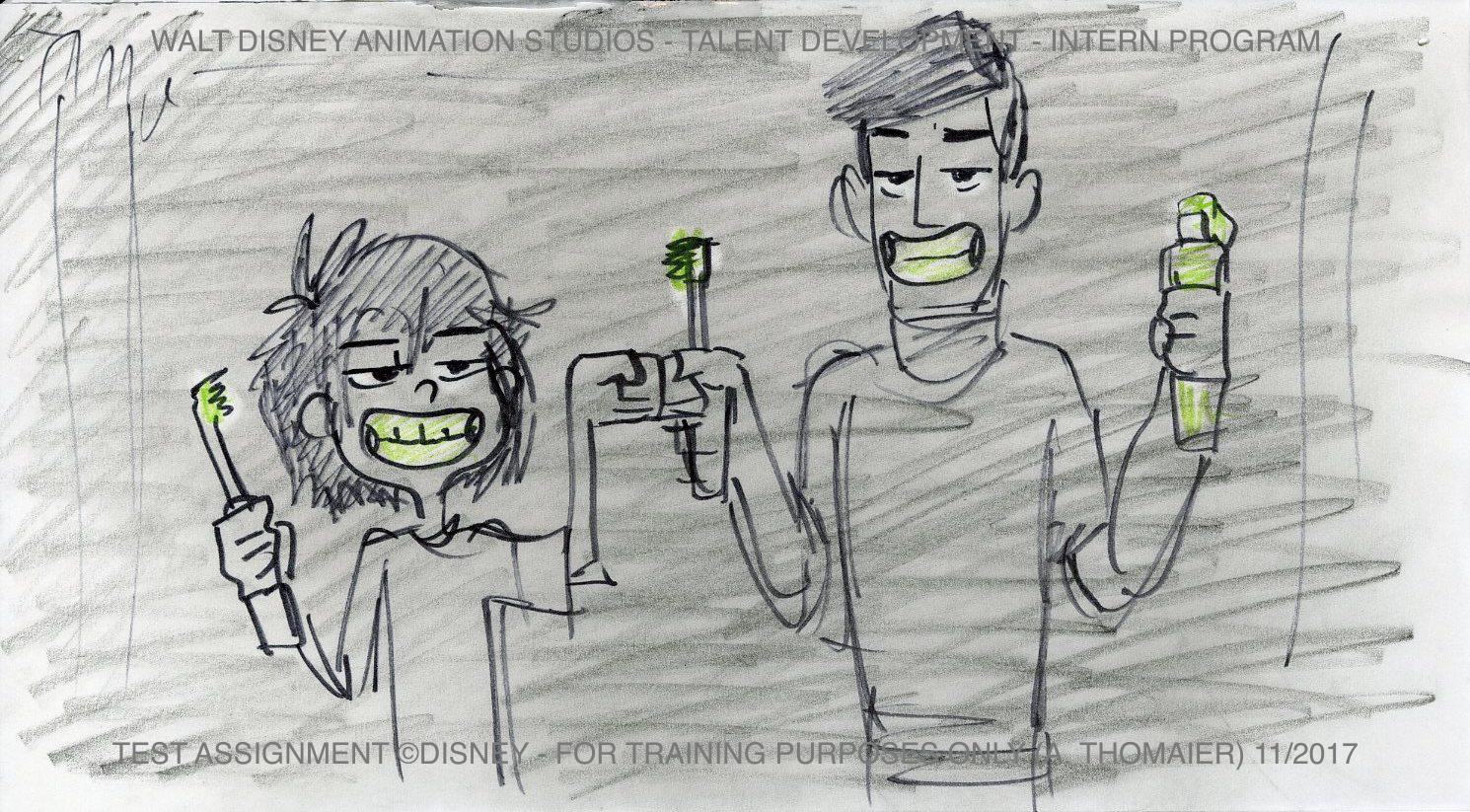 Disney Internship Tadashi & Hero
