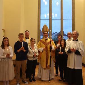 A Vociferous Welcome for Bishop Philip