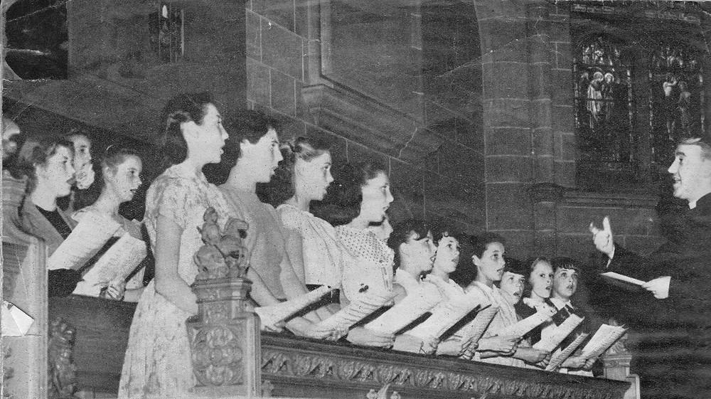 Tower Ballet choir