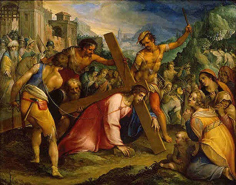 Christ on the Road to Calvary by Hans Rottenhammer