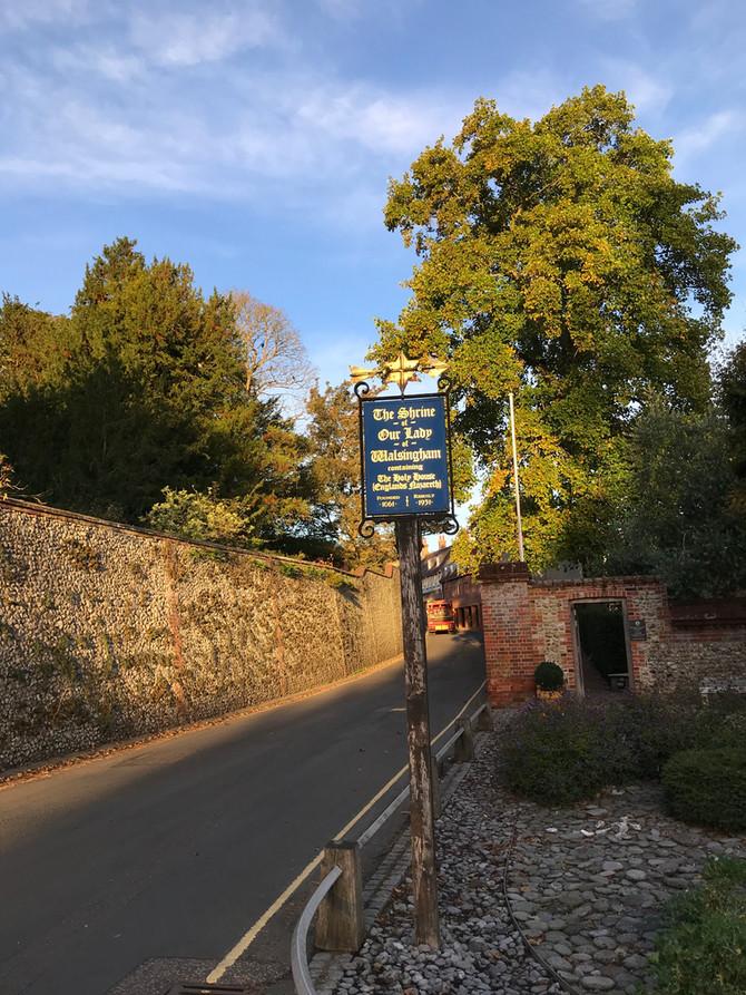 O happy band of pilgrims. Walsingham Pilgrimage 2018