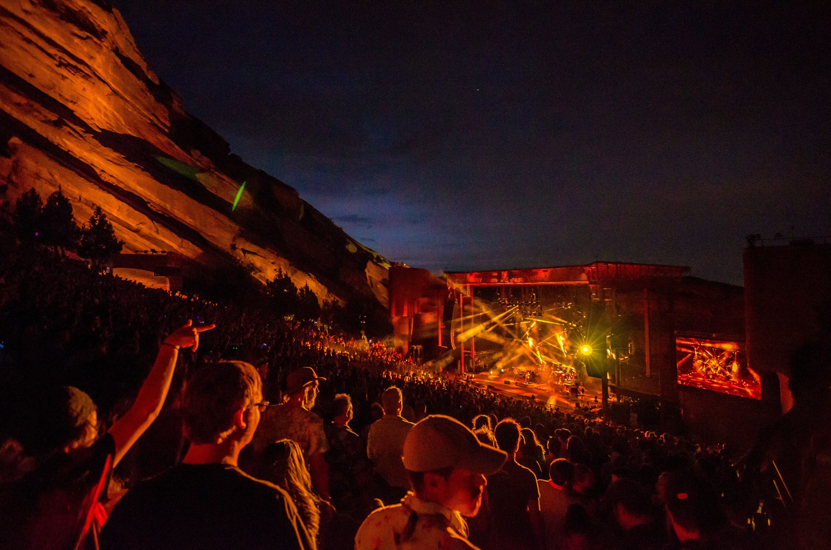 STRING CHEESE INCIDENT AT RED ROCKS
