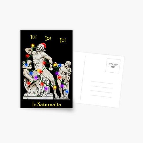 Io Saturnalia Laocoon Postcard