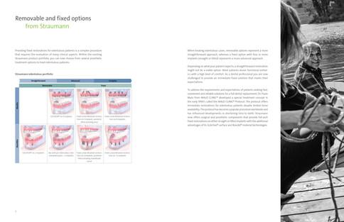 Straumann Pro Arch Technical Brochure (Inside Spread)