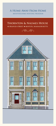 The Thornton & Naumes House for Mesothelioma (Cover)