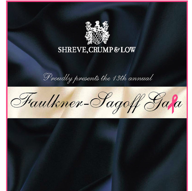 2008 Faulkner-Sagoff Gala