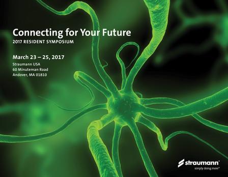 2017 Straumann Resident Symposium Invitation (Cover)