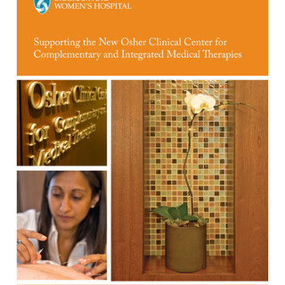 New Osher Clinical Center for  Complementary and Integrated Medical Therapies