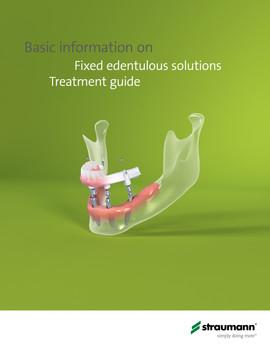 Straumann Pro Arch Technical Brochure (Cover)