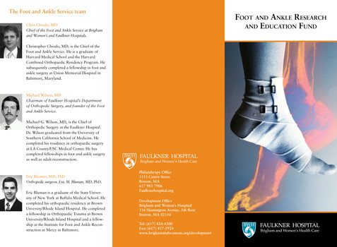 Foot and Ankle Research and Education Fund Spread