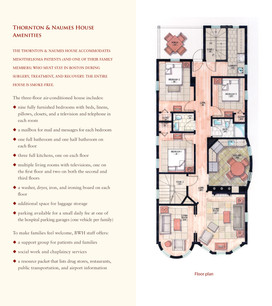 The Thornton & Naumes House for Mesothelioma (Spread)