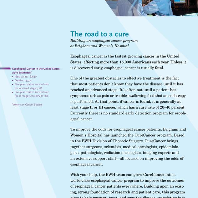 Esophageal cancer program