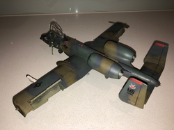 Monogram 1/48 A-10 back view.png