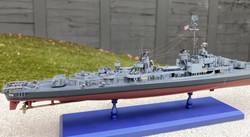 USS Gearing starb aft detail