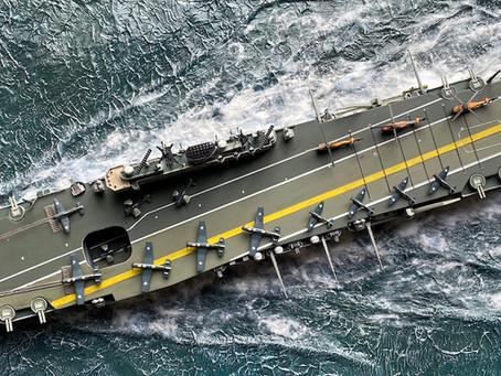 Fujimi HMS Eagle R05: full steam ahead