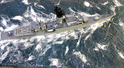 FF-1082 Starboard from above