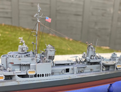 USS Gearing port midships 1