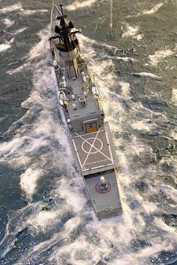 FF-1082 Approaching helipad