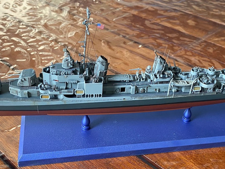 USS Gearing (1945): completed!