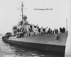 USS Gearing DD-710