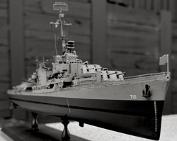 USS Gearing front view