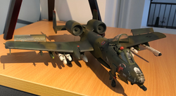 Monogram 1/48 A-10 front view.png