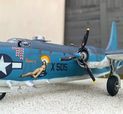 16 PB4Y-2 Redwing Nose art 1