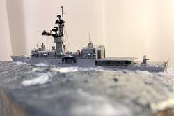 FF-1082 Port stern sea level