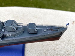USS Gearing foredeck detail