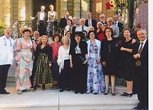 Réception chez l'Ambassadeur René Roud