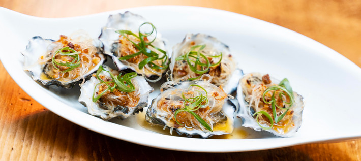 XO Oyster with vermicelli base