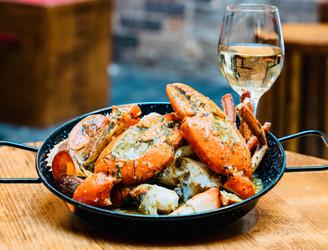 Garlic Butter Crab