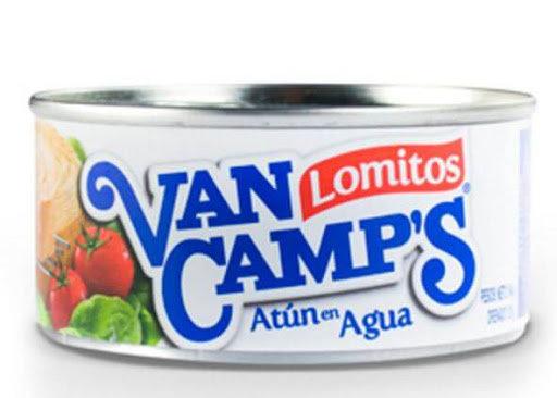 Atún lomito Van Camp`s agua 184gr