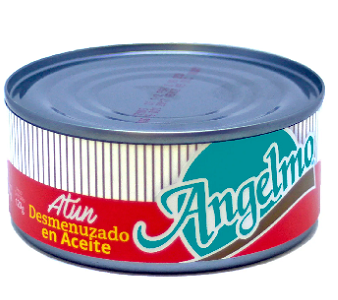 Atún lomito Angelmó aceite 170gr