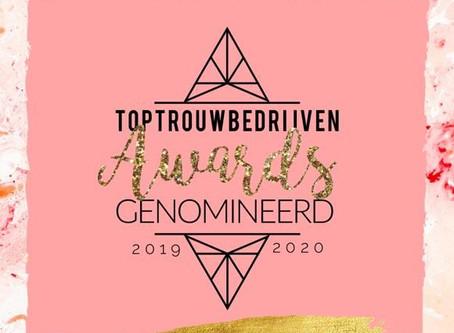 Yes genomineerd voor de Top Trouwbedrijven AWARD!