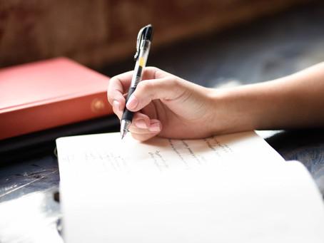 Wanneer begin je aan je trouwgeloften schrijven?