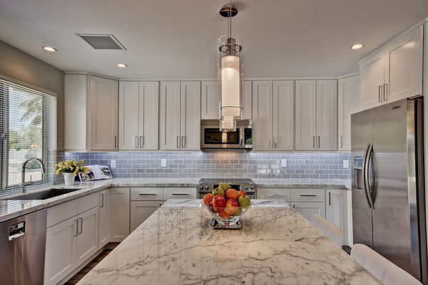 Custom Designed Cabinets and Countertops