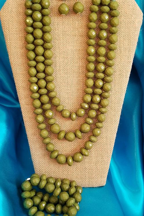 Patti (Olive green)