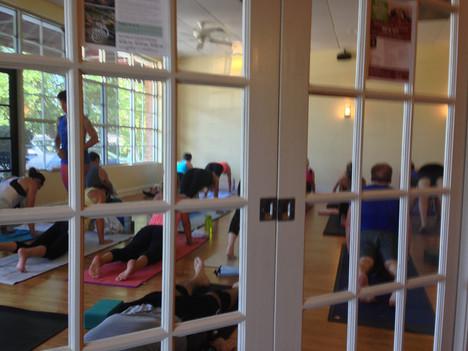Sun Room Flow Yoga Class