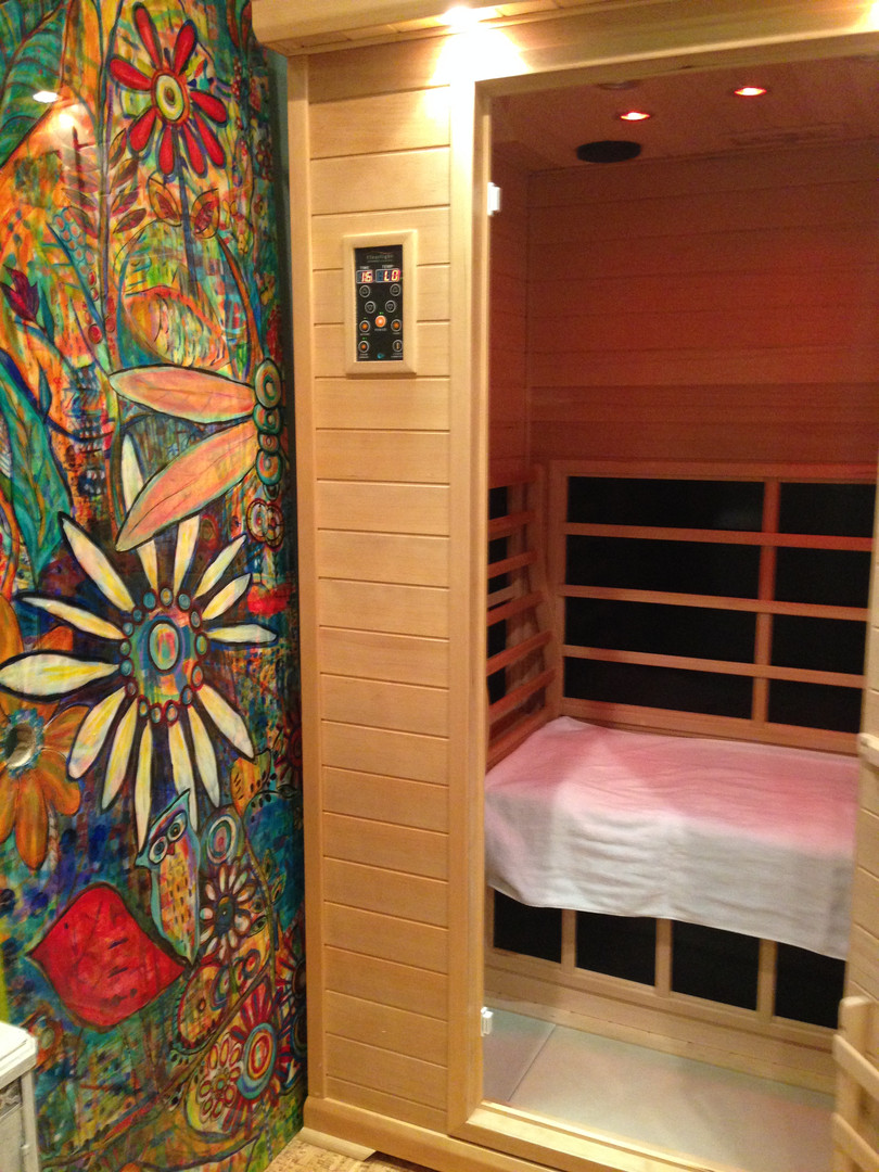 Infrared Sauna at Gotta Yoga Mooresville