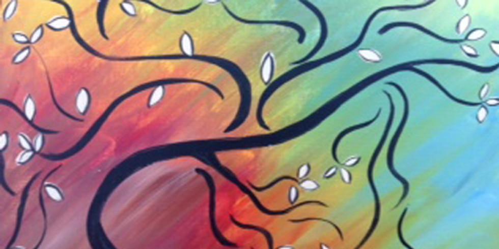 Spring Rainbow Tree