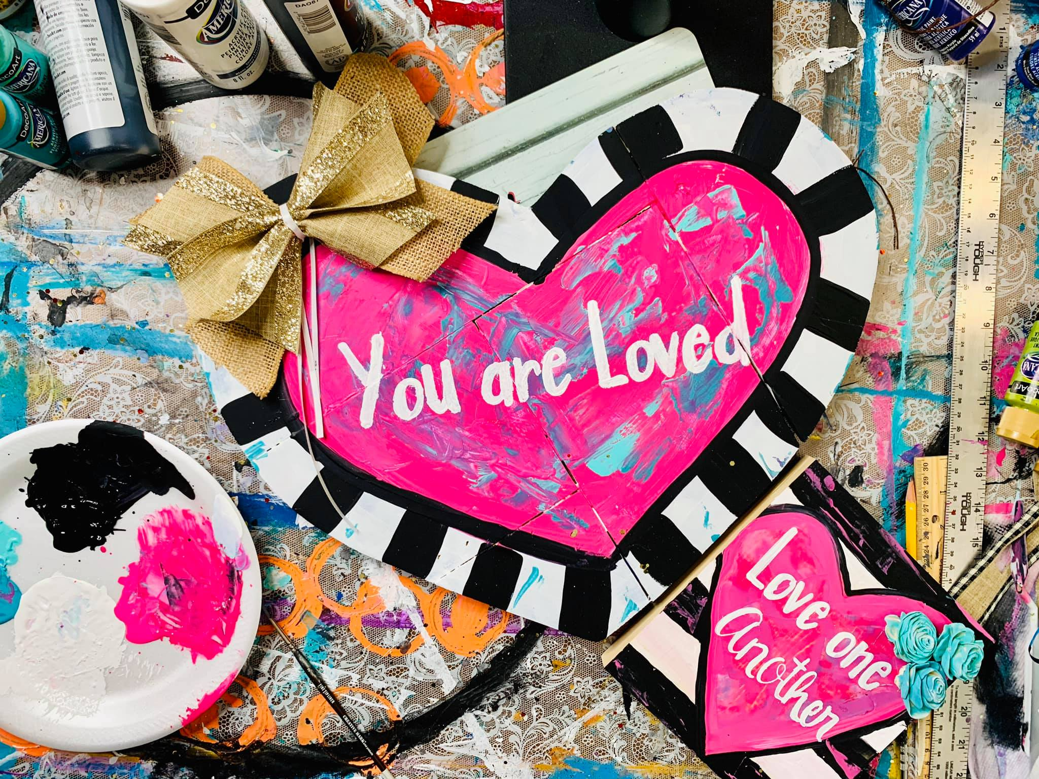 Heart, you are loved