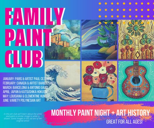 Family Paint Club