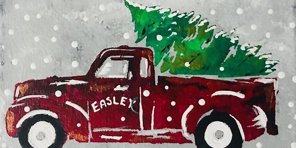 Christmas Tree & Truck