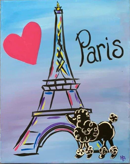 Poodles in Paris
