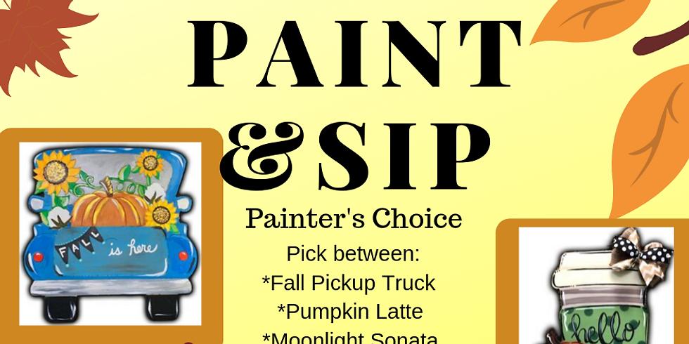 Fall Ball Painter's  Choice