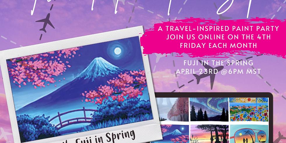 Travel Paint & Sip Zoom Class