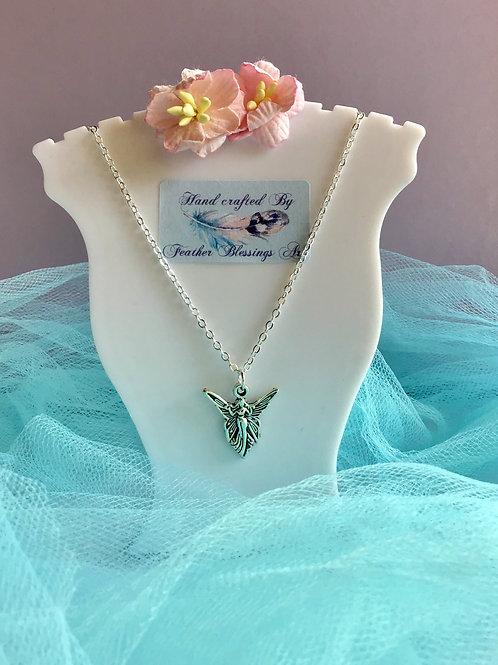Guardian Angel Necklace Angel Charm Pendant