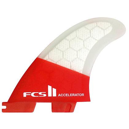 Quilhas FCS II Accelerator PC Tri - Medium